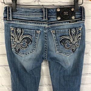 Miss Me Jeans   JP5182P Capri sz 26